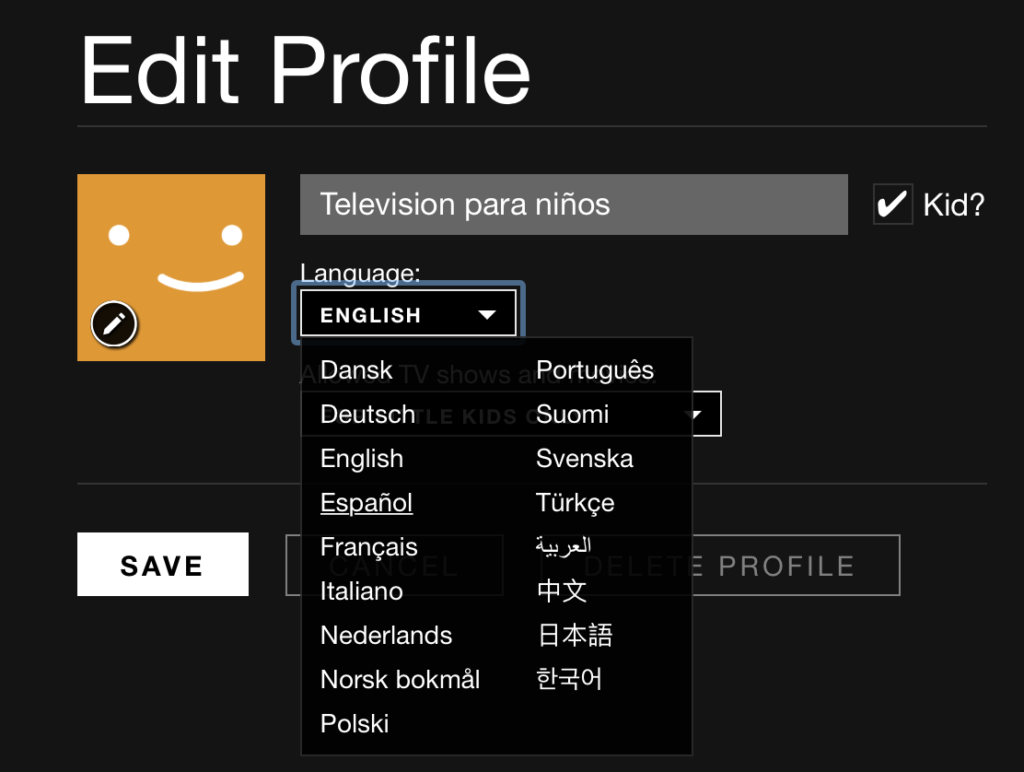 How to Change the Default Language on Netflix, Hulu & Amazon Video