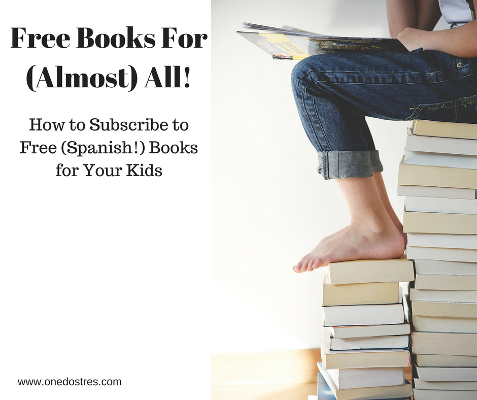 Spanish Books – One Dos Tres